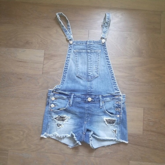 2d8396bb28d True Religion Distressed Overalls - Sequin Pocket.  M_5c27a41312cd4a04bfd0554a. Other Jeans ...